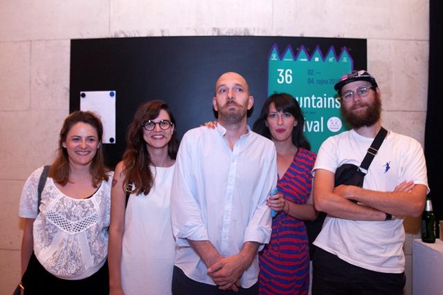 Umjetnici Daria Čičmir, Iva Maria Jurić, Ivan Marković, Jelena Bando i Jakob Feltsen
